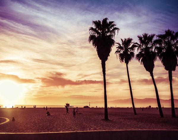 Santa Cruz Beach Boardwalk at California