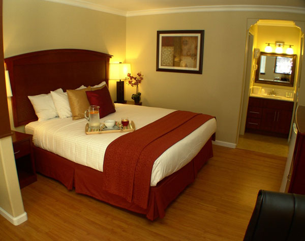 Quality Inn & Suites Santa Cruz Mountains, Ben Lomond Single King Suite